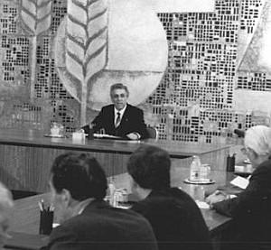 Egon Krenz, Staatsratsitzung Oktober 1989